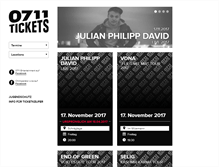 Tablet Preview of 0711tickets.de